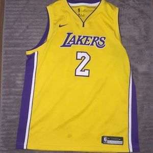 Nike Dri-Fit Los Angeles Lakers Jersey Lonzo Ball